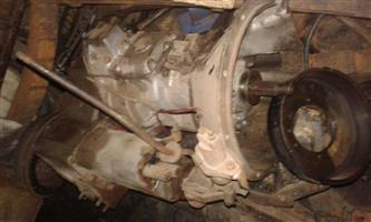 Land Rover Series III gearbox