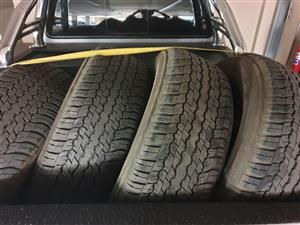 A/T Tyres x4