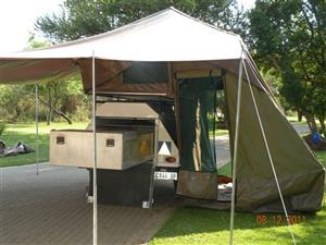 SWAP my Echo trailer tent for your Rooftop tent