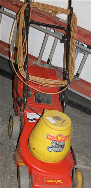Wolf tools electric lawnmower S031037A #Rosettenvillepawnshop