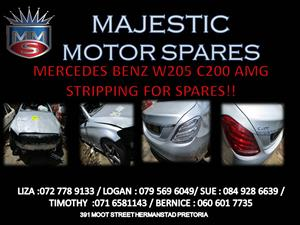 MERCEDES BENZ C200 AMG STRIPPING FOR SPARES !!