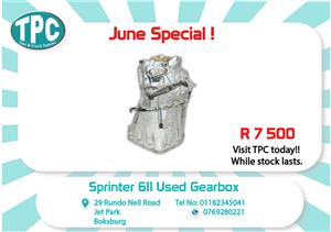 Mercedes Benz Sprinter 611 Used Gearbox for Sale at TPC