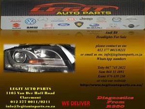 Audi B8 Headlights for sale