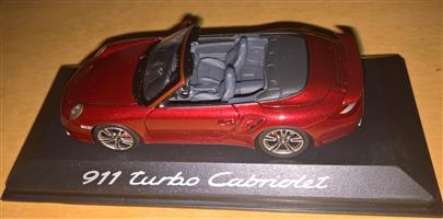 1:43 Porsche model cars