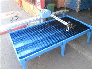 P-1318 MetalWise Lite CNC Plasma/Flame Cutting Machine 1300x1800mm, Stepper Motor, Flame
