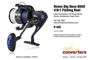 Rovex Big Boss 6000 4:9:1 Fishing Reel
