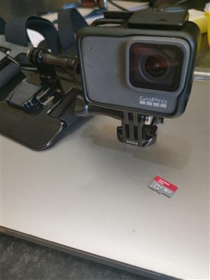 Gopro hero 7 silver +  brand new chestmount