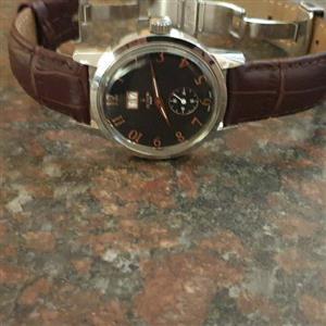 Buren mens classical watch