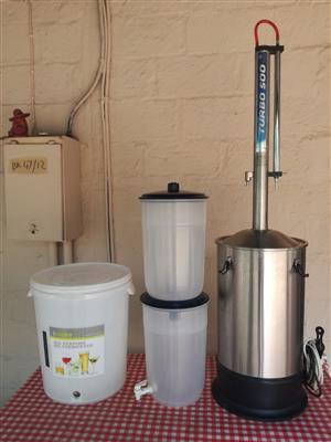 Distillers, Turbo 500 Distilling Kit