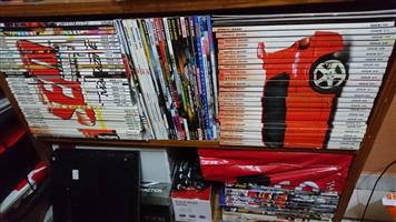 "Almost complete collect of ""Speed and sound"" magazine and more for sale"