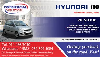 Hyundai I10 Parts and spares for sale