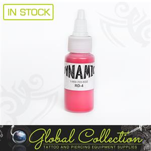 PRODUCT: Dynamic Tattoo Ink, Burgundy Red.
