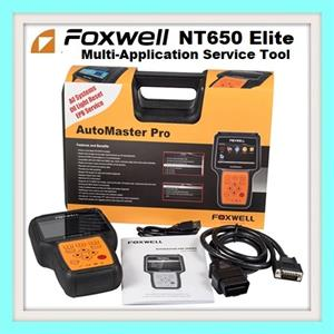 Auto multifunction service tool Foxwell NT650Elite Latest 2019 version