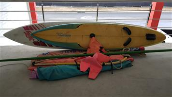 Full set off Windsurf Equipment