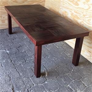 Patio table Farmhouse series 2000 Stained