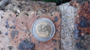 Mandela R5 coins 2018