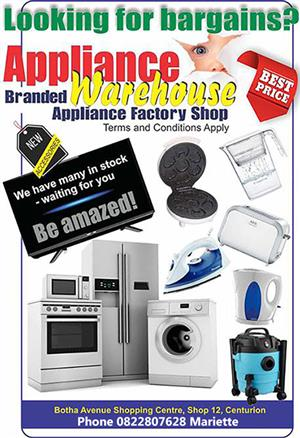 Appliance Warehouse - Best prices around!
