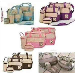 5piece baby nappy bags available in all colours very strong and quality