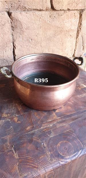 Victorian Copper Bowl (D 250mm)