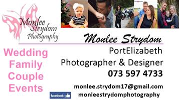 Photography - Wedding, family, couple and events.
