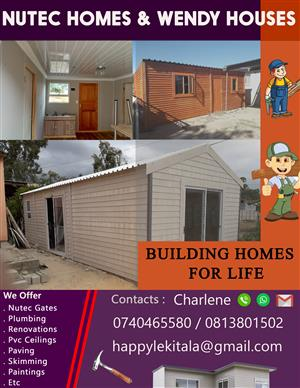 Nutec homes and wendy houses