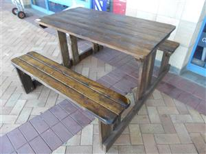 Wooden 6 Seater Table
