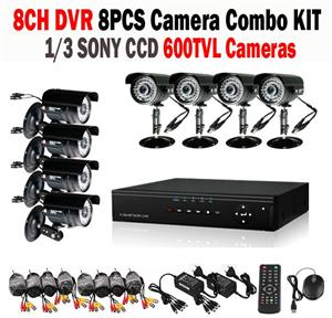 8 Channel HD-DVR/ CCTV Kit  The 8 Channel CCTV Kit offers high quality video at an affordable price.