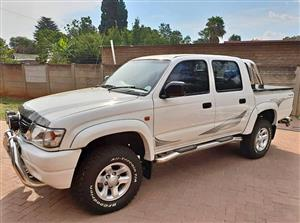 2004 Toyota Hilux 2.7 double cab Raider
