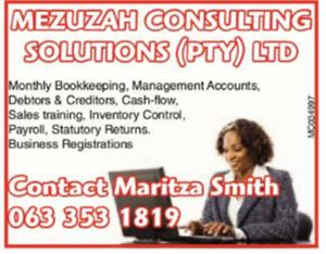 MEZUZAH CONSULTING SOLUTIONS (PTY) LTD