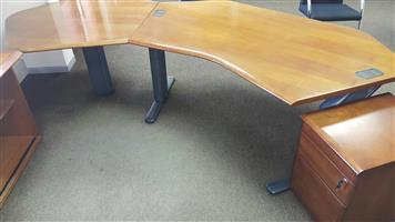 Rose veneer desk