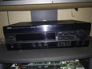 3x Anplifiers (Yamaha, Sony & JVC)