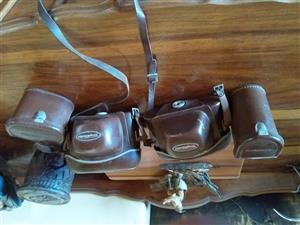 Voigtlander cameras with lenses