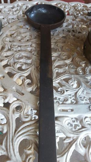 Blacksmith ladle forge tool