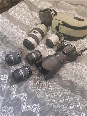 canon 400D EOS & accesories