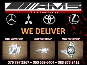 MERCEDES BENZ WATER PUMPS FOR SALE
