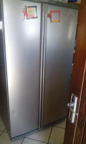 Defy side by side fridge/freezer