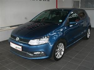 2017 VW Polo 1.2TSI Highline auto