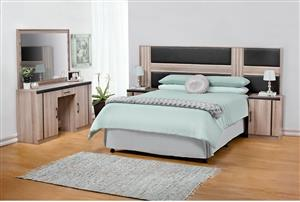 Headboard Pedestals and Dressing Table