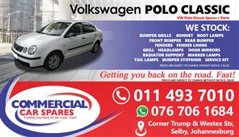 VW Polo Classic Parts for sale