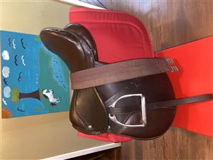 Brand new Trident saddle and bridle for sale