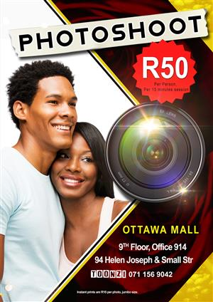 Photoshoot for R50