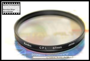 67mm - Kenko Circular Polarized Filter