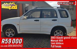 2003 Suzuki Grand Vitara 3.2 V6