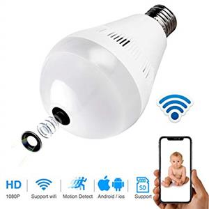 5.	Wifi Light Bulb camera