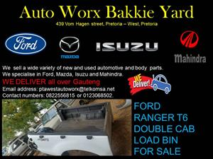 FORD RANGER T6 DOUBLE CAB LOAD BIN FOR SALE