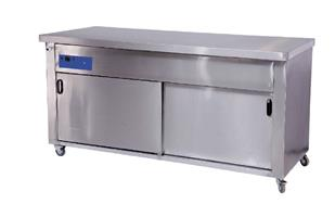 SERVICE COUNTER HEATED WITH DOORS - 2300x700x900mm-SCHD230