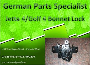 Jetta 4/Golf 4 Bonnet Lock