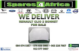 RENAULT CLIO 2 BONNET FOR SALE