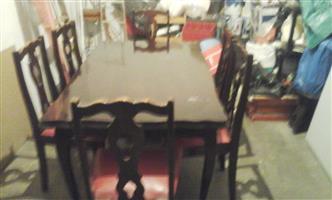 Antique dinning room suite
