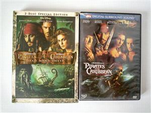 Pirates of the Caribbean two disc special edition. R80 per set .Single discs R40. I am in Orange Grove.
